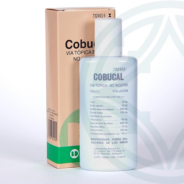 CoBucal solución tópica 150 ml