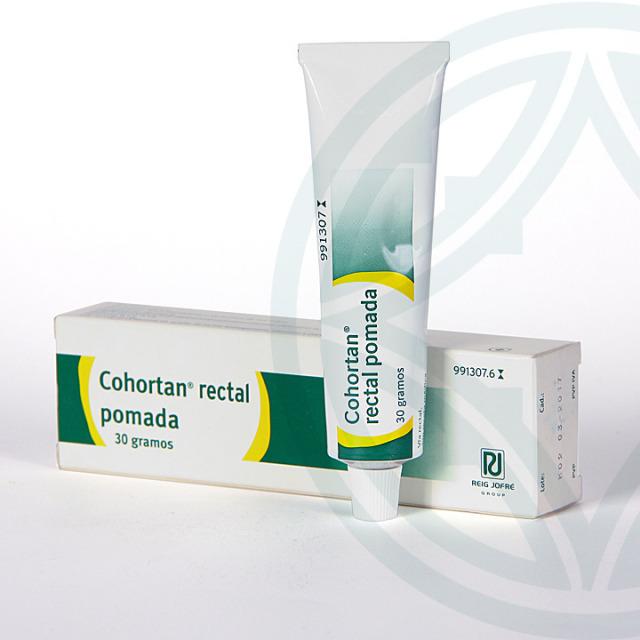 Cohortan Rectal pomada 30 g