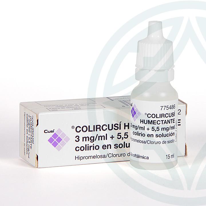 Colircusi Humectante colirio 15 ml