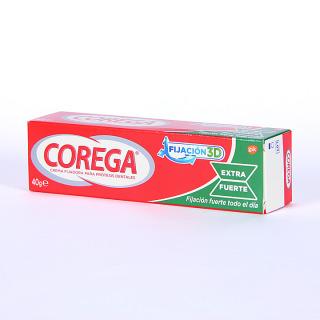 Corega Crema fijadora Extra fuerte 40 g
