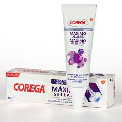 Corega Crema Fijadora Máximo Sellado 40 g