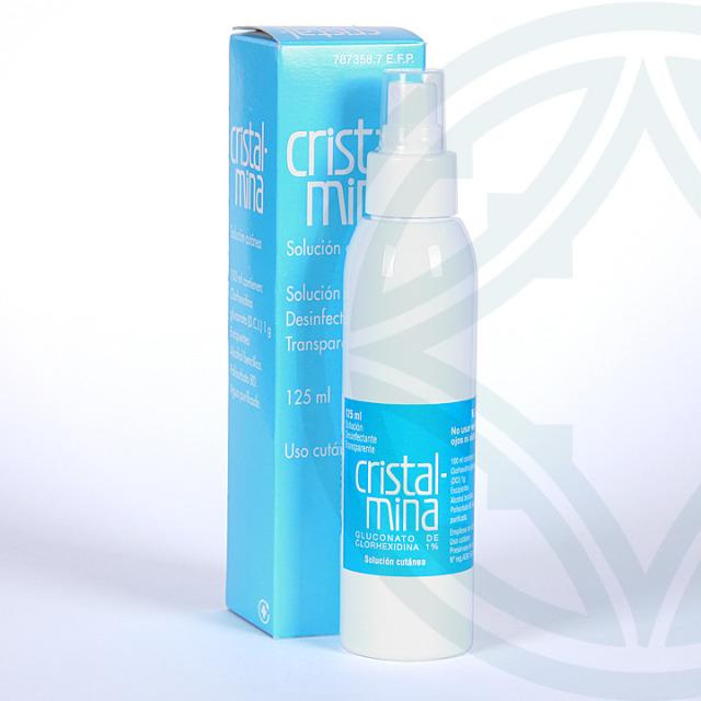 Cristalmina solución tópica 125 ml