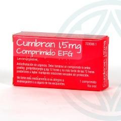 Cumbran 1,5 mg 1 comprimido