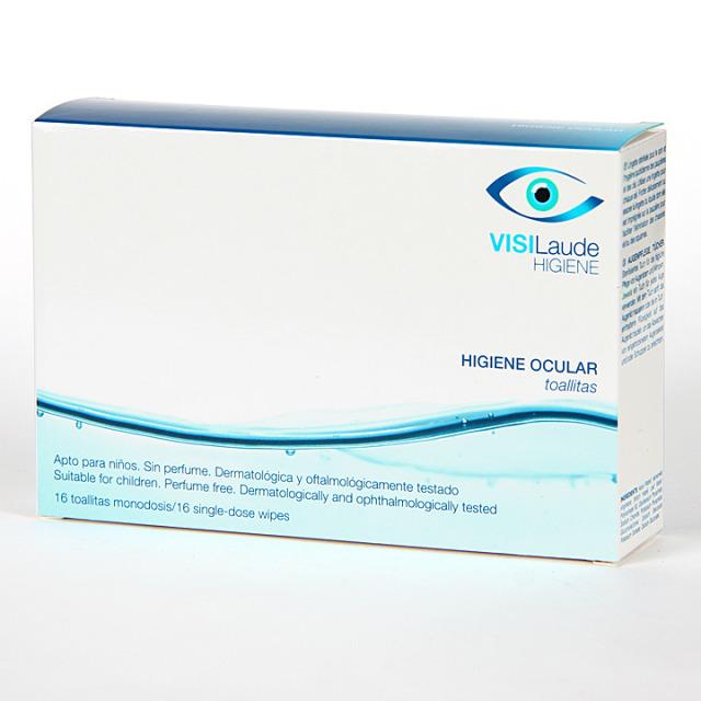 Cumlaude Visilaude Higiene Ocular toallitas 16 unidades