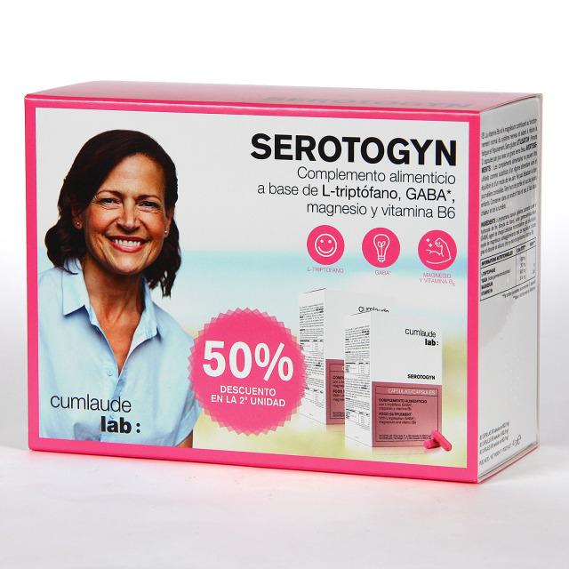 Cumlaude Rilastil Serotogyn 60 cápsulas Duplo