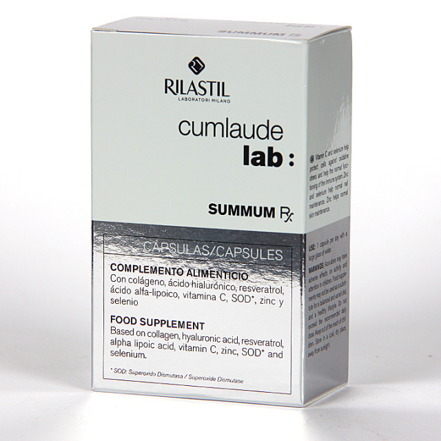 Cumlaude Summum Rx Tratamiento Antiedad 30 Cápsulas