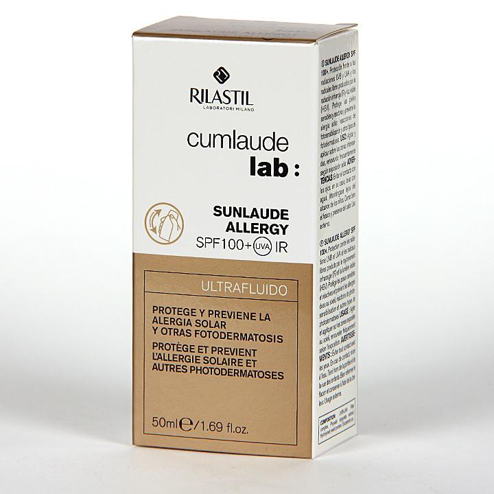 Cumlaude Sunlaude Allergy SPF 100+ Ultrafluido 50 ml