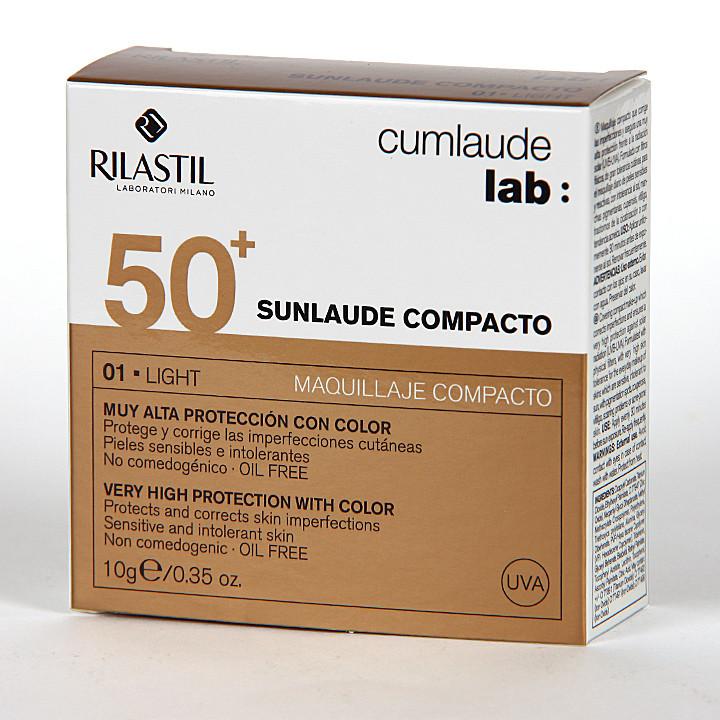 Cumlaude Sunlaude Maquillaje Compacto 50+ light 10g
