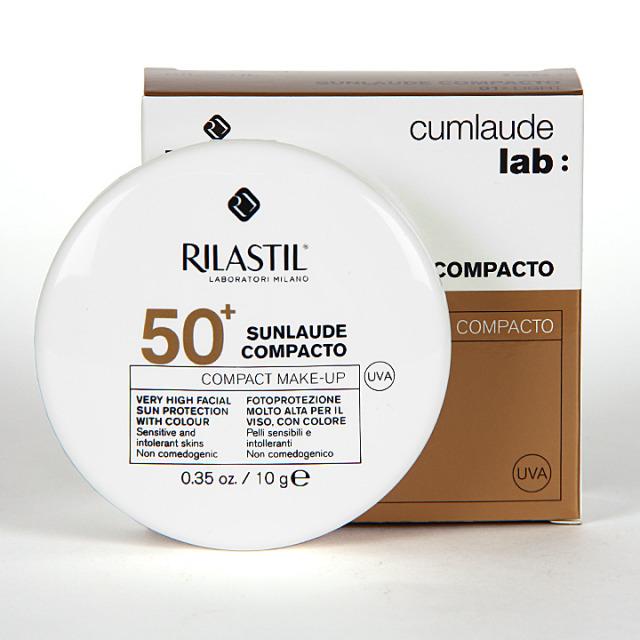 Rilastil Cumlaude Sunlaude Maquillaje Compacto 50+ light 10g