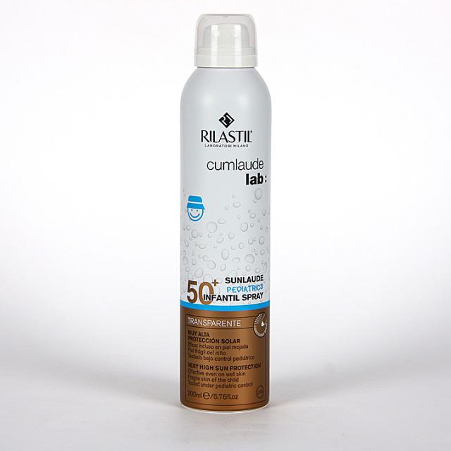 Rilastil Cumlaude Sunlaude SPF50+ Infantil Spray transparente 200ml