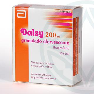 Dalsy 200 mg 20 sobres