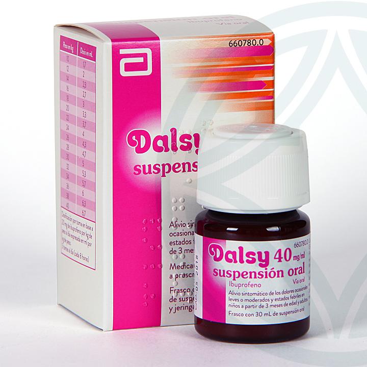 Dalsy 40 mg/ml suspensión oral 30 ml