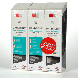 Dandrene 2 Champús Anticaspa + Acondicionador de Regalo DS Laboratories