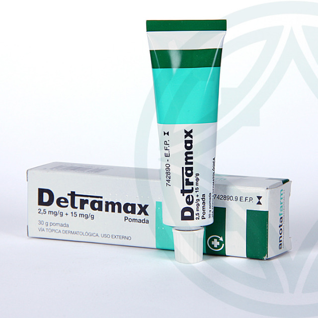 Detramax pomada 30 g