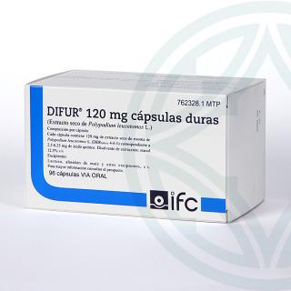 Difur 120 mg 96 cápsulas