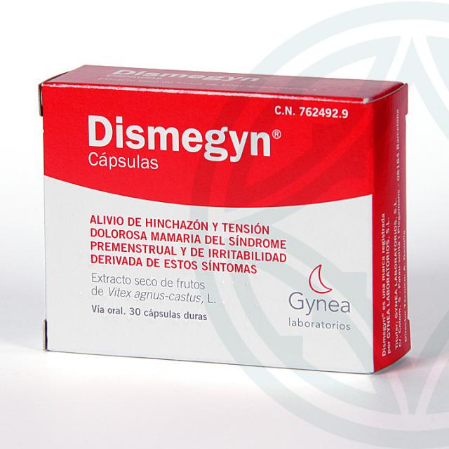 Dismegyn 4 mg 30 cápsulas