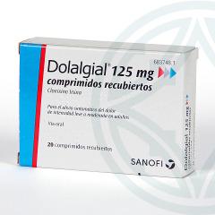Dolalgial 125 mg 20 comprimidos