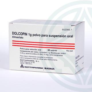 Dolcopin 1g polvo para suspensión oral