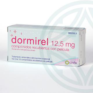 Dormirel 12,5 mg 16 comprimidos