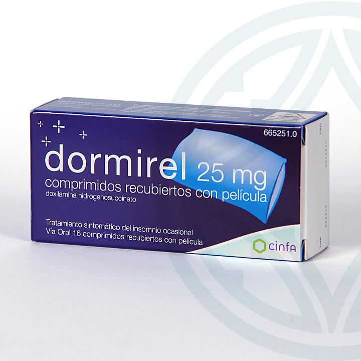 Dormirel 25 mg 16 comprimidos