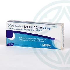 Doxilamina Sandoz Care 25 mg 14 comprimidos