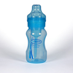 Dr Brown's Biberon Azul Boca Ancha 240 ml