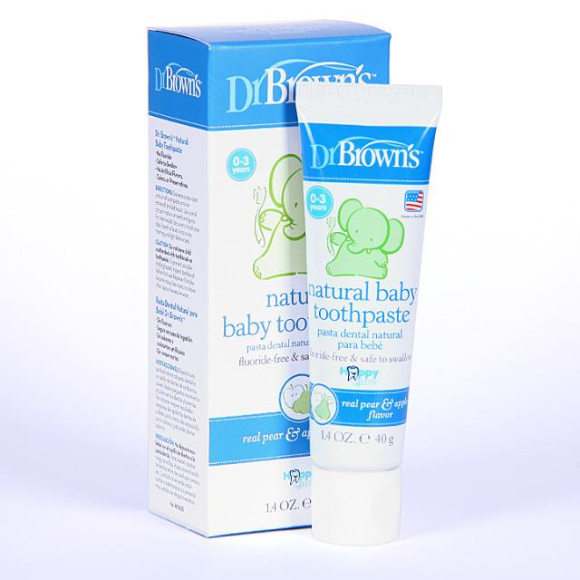 Dr Brown´s Pasta Dental Natural para Bebé 40 g