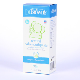Dr Brown´s Pasta Dental Natural para Bebé 40 g
