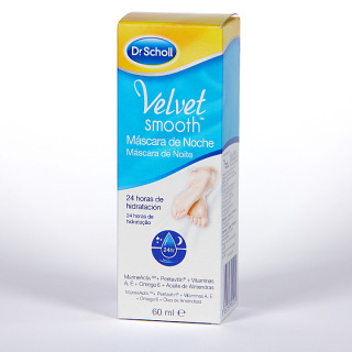 Dr. Scholl Velvet Smooth máscara de noche 60 ml