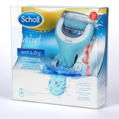Dr. Scholl Velvet Smooth Wet & Dry Lima para pies agua