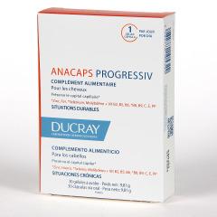Ducray Anacaps Progressiv 30 cápsulas