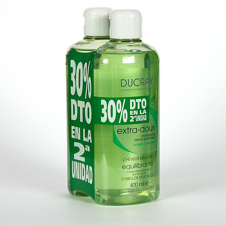 Ducray Champú Equilibrante 400 ml Pack Duplo