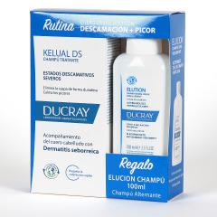Ducray Kelual Ds Champú 100 ml + Elucion Champú 100 ml Pack Regalo