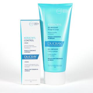 Ducray Keracnyl Control Crema + Gel Limpiador Pack Ahorro