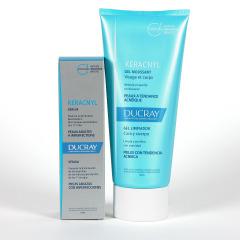 Ducray Keracnyl Serum + Gel Limpiador Pack Ahorro