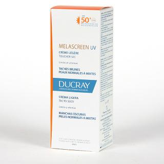 Ducray Melascreen UV SPF50+ Crema Ligera Tacto Seco 40 ml