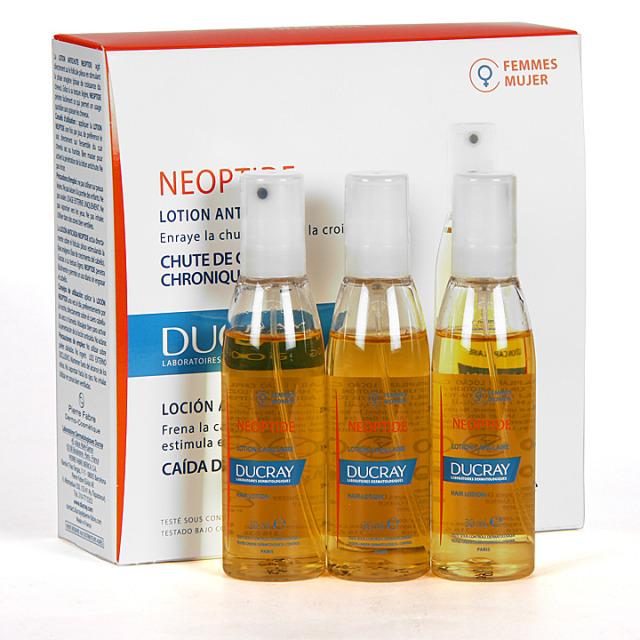Ducray Neoptide Loción 3X30 ml