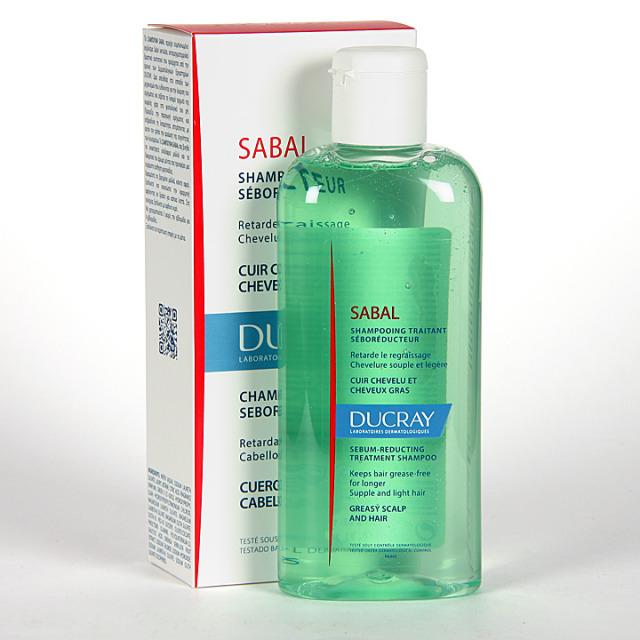 Ducray Sabal Champú tratante seborregulador 125 ml