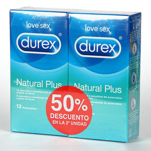 Durex Natural Comfort Preservativos 50% segunda unidad