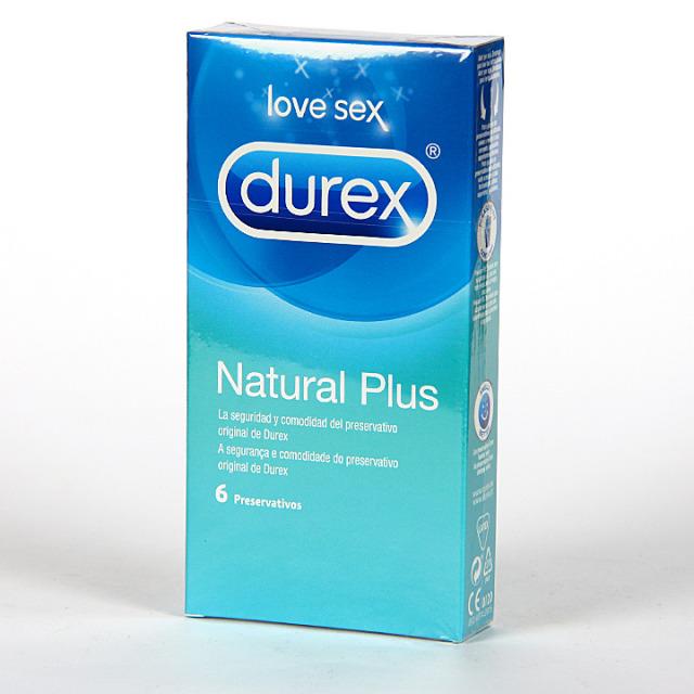 Durex Natural Comfort Preservativos 6 unidades