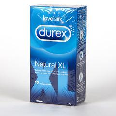 Durex Natural XL Preservativos 12 unidades