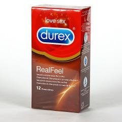 Durex Real Feel Preservativos 12 unidades