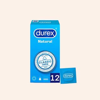 Durex Natural Comfort Preservativos 12 unidades
