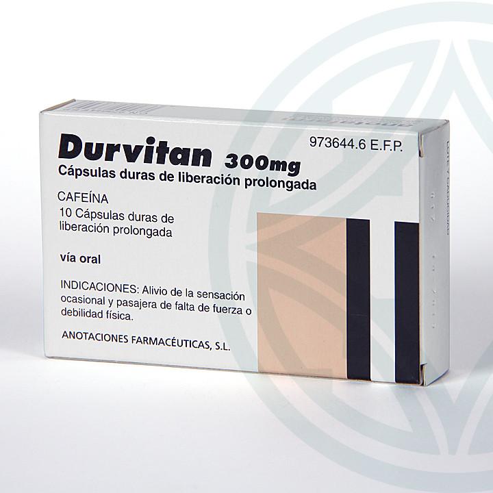 Durvitan Retard 10 cápsulas