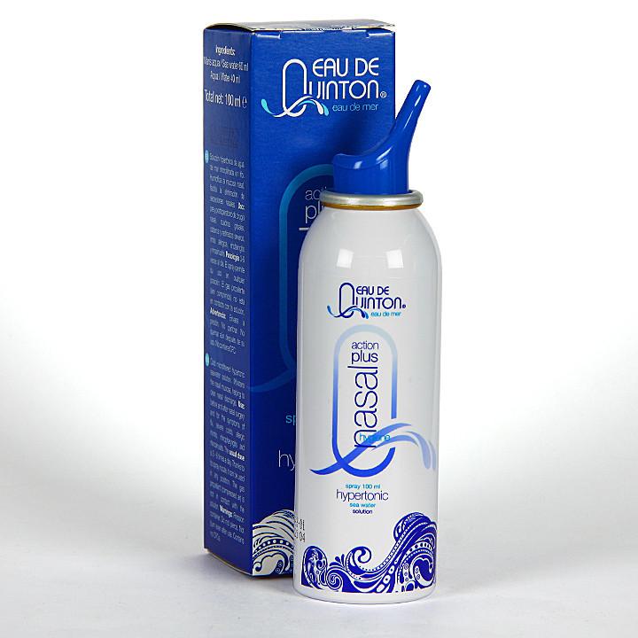 Eau de Quinton Action Plus Nasal Hygiene Spray 100 ml