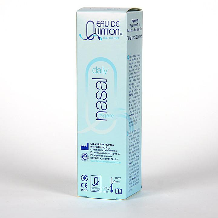 Eau de Quinton Daily Nasal Hygiene Spray 100 ml