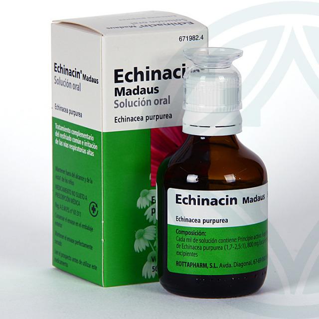 Echinacin Madaus solución oral 50 ml