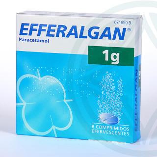 Efferalgan 1 g 8 comprimidos efervescentes