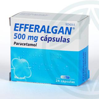 Efferalgan 500 mg 24 cápsulas