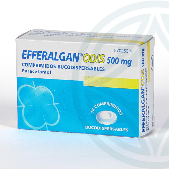 Efferalgan Odis 500 mg 16 comprimidos bucodispersables